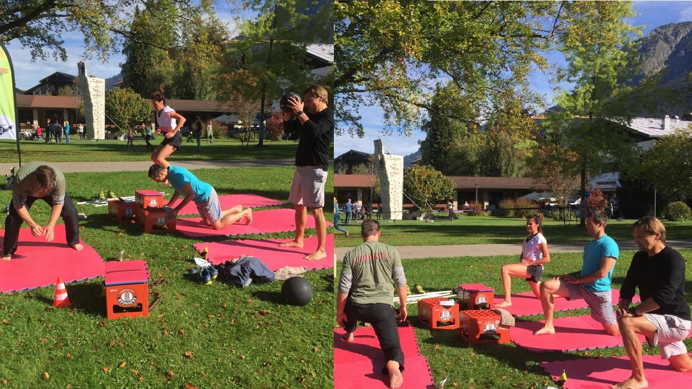 Fitness Bootcamp in Oberstdorf